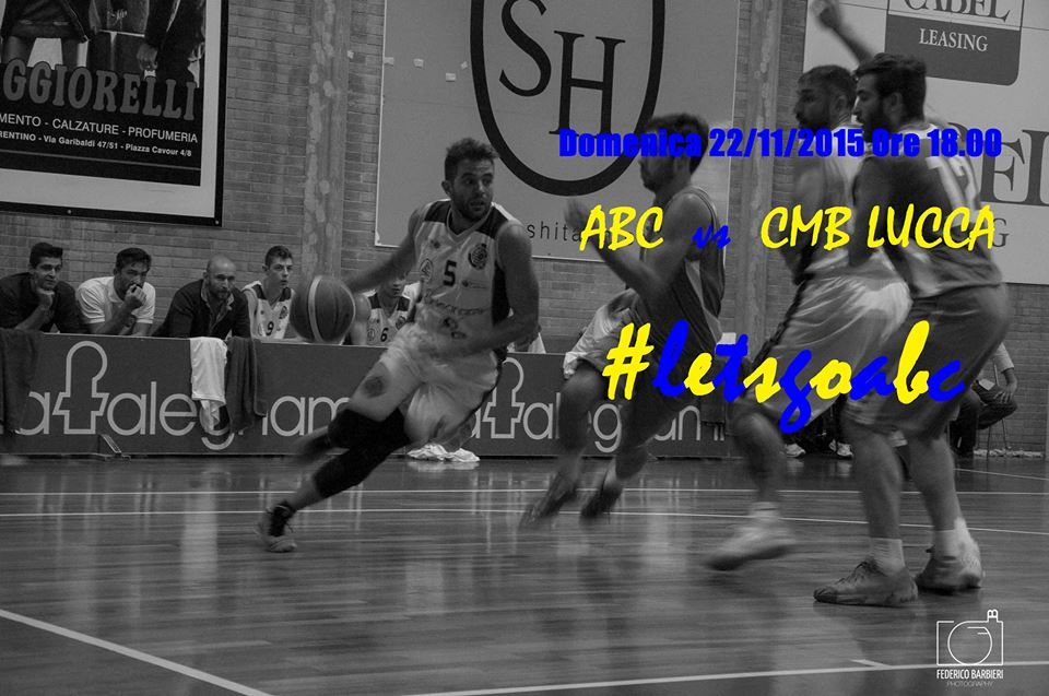 Abc-Cmb Lucca: sale l'attesa per il big match