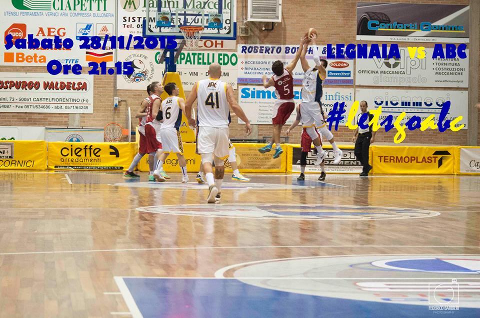 Legnaia-Abc: è ancora big match