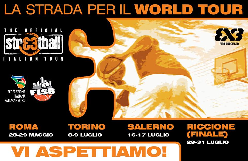 Streetball Italian Tour, qualificazioni Europee e World Tour