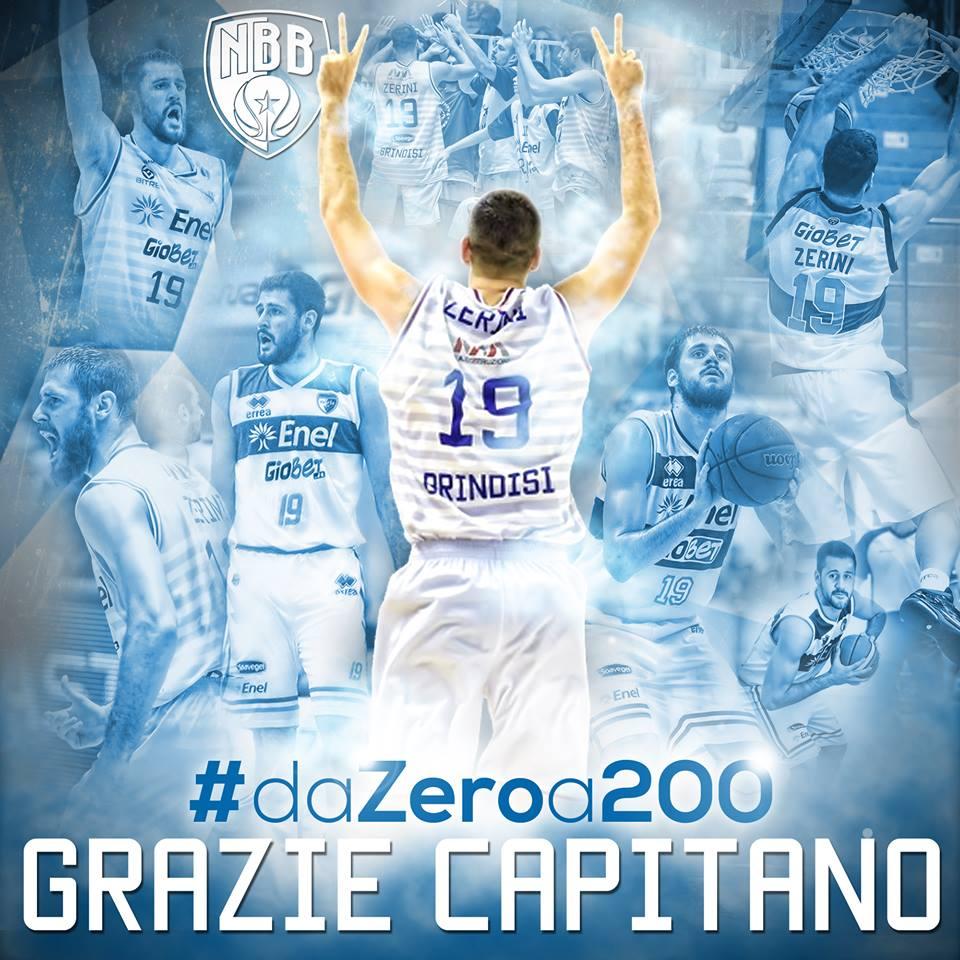 Zerini a quota 200 in maglia Enel!