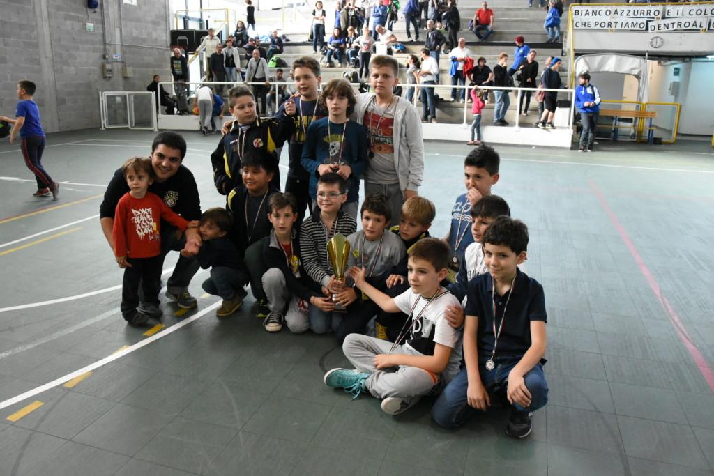 Scoiattoli 3° al Torneo di Calcinaia