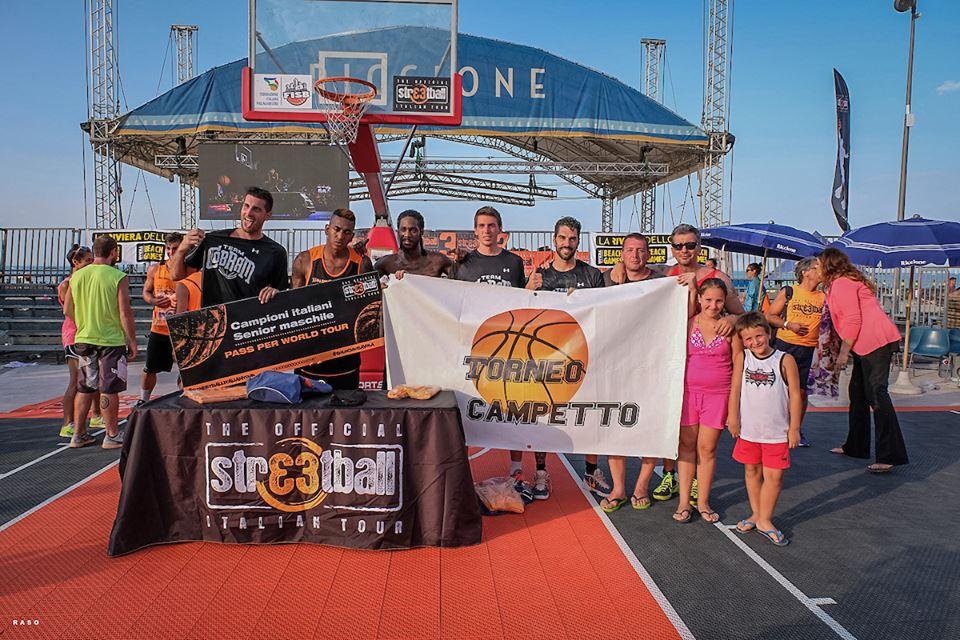 A Riccione si chiude lo Streetball Italian Tour 2K16