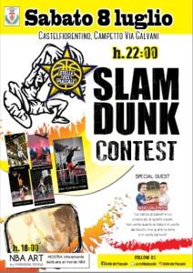Locandina Dunk Contest