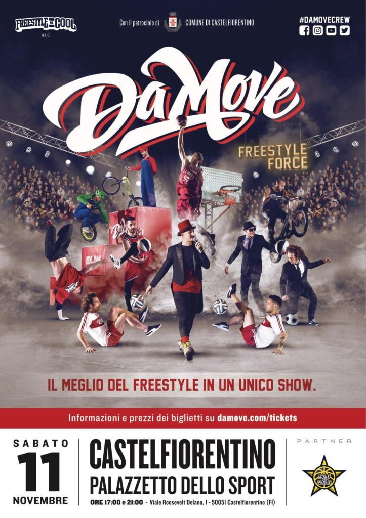 DaMove live show sabato al Palazzetto!