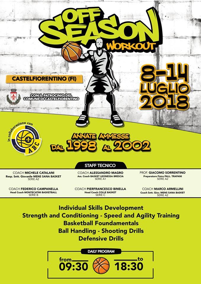Off Season Basketball Camp