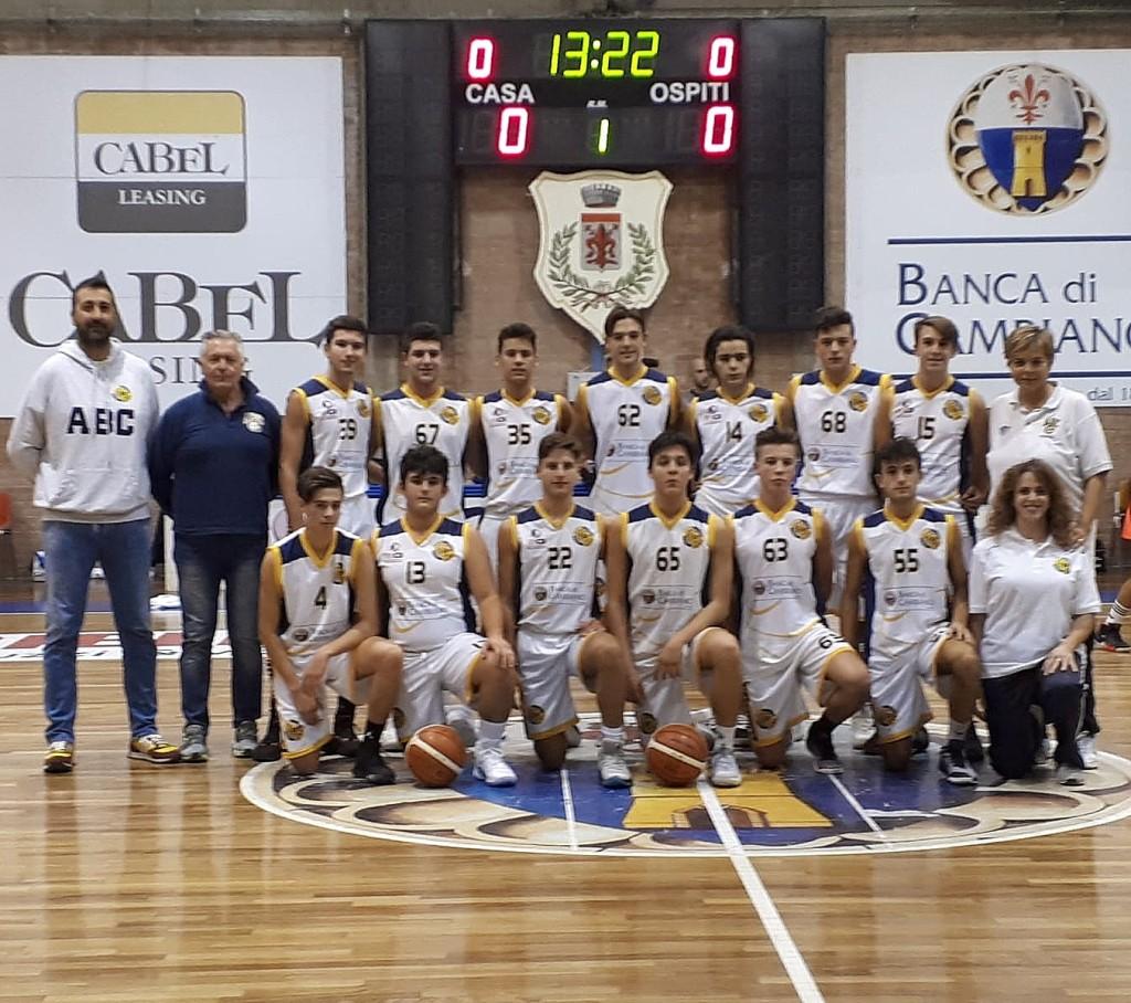 L'U18 Gold espugna Montecatini e attende il verdetto finale