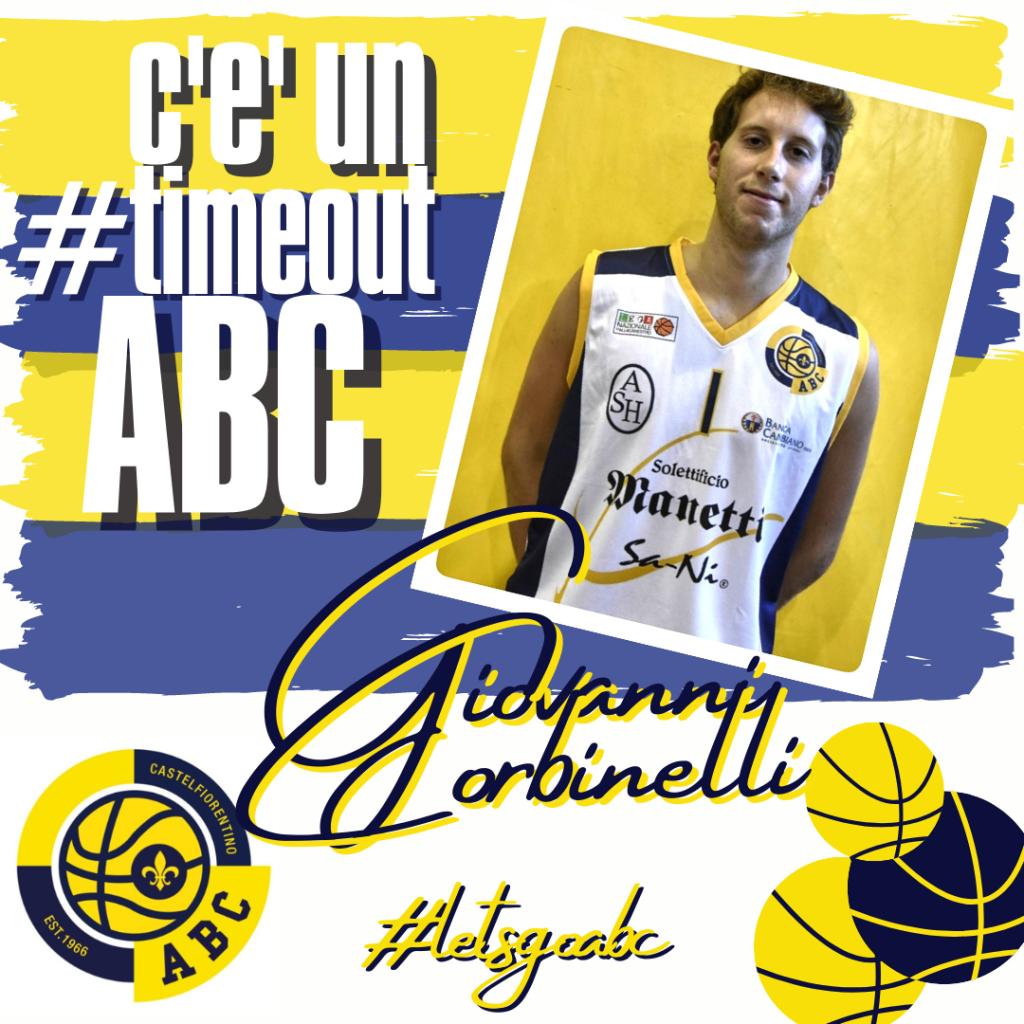 C'E' UN #TIMEOUT ABC: Giovanni Corbinelli