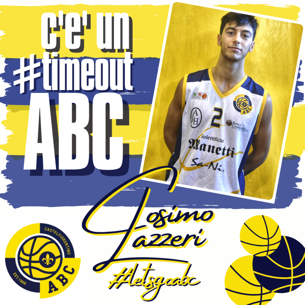 C'E' UN #TIMEOUT ABC: Cosimo Lazzeri