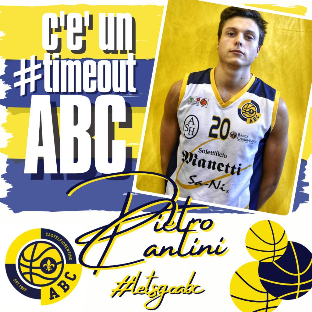 C'E' UN #TIMEOUT ABC: Pietro Cantini