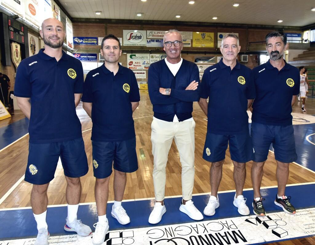 Nuova stagione, stesso staff: da loro riparte l'Abc Solettificio Manetti